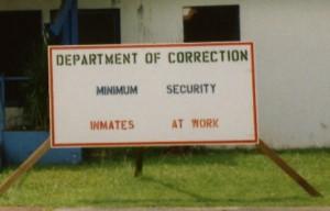 inmates at work